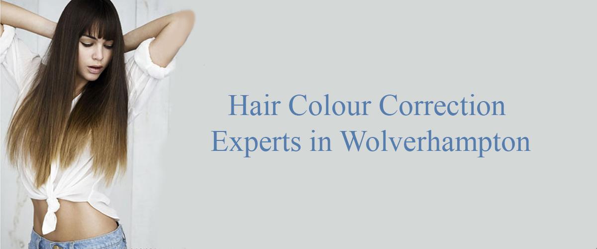 hair colour correction salon in Wolverhapmton