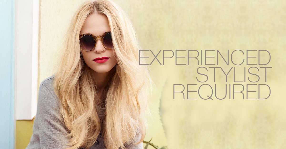 experienced-stylist-required