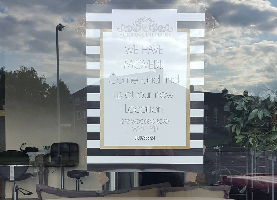 We've Moved! Welcome to Woodend Road