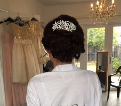wedding hair & make-up at urban coiffeur hair salon wolverhampton