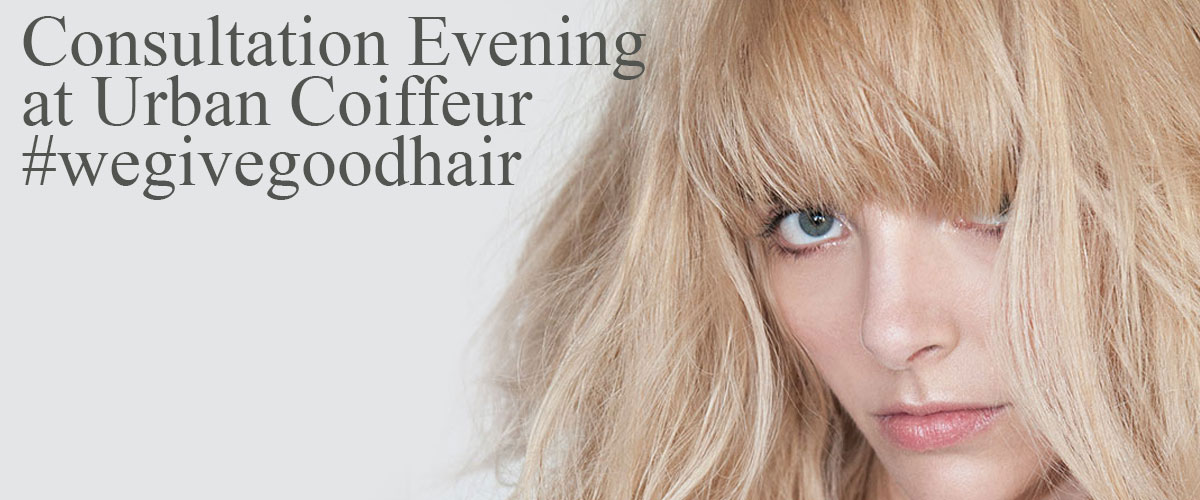 You're Invited to Urban Coiffeur's Spring Consultation Evening!