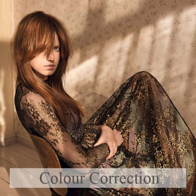Colour-Correction course at urban coiffeur hair salon wolverhampton