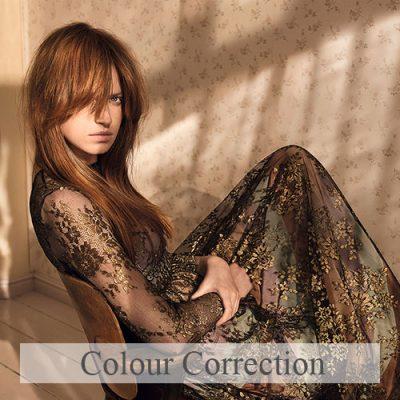 Colour-Correction course at urban coiffeur hair salon wolverhampton