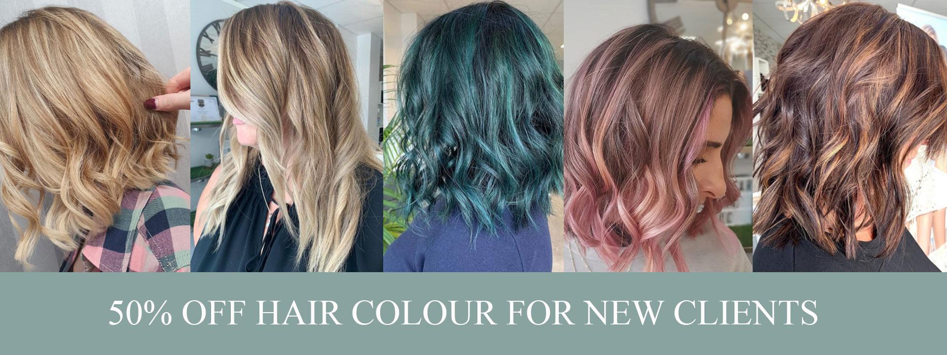 balayage hair colour at urban coiffeur wolverhampton hair salon