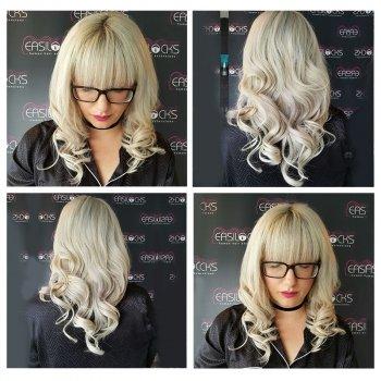 After Easilocks Hair Extensions at Urban Coiffeur Salon in Wolverhampton