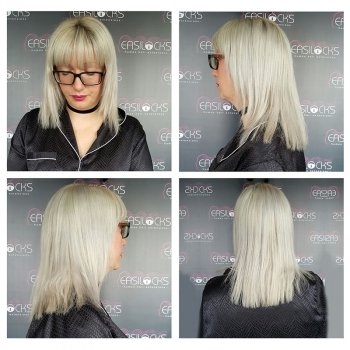 Before Easilocks Hair Extensions at Urban Coiffeur Salon in Wolverhampton