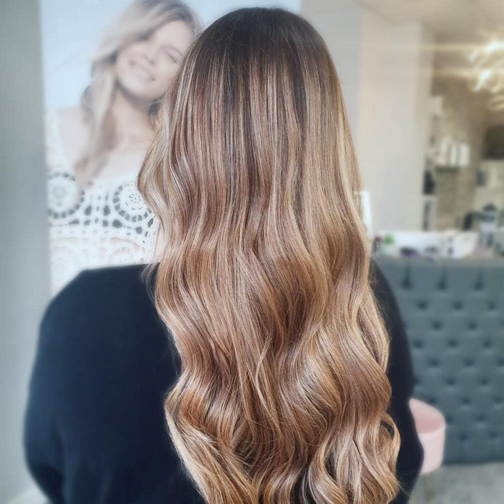 blonde highlights At Urban Coiffeur Hair Salon In Wolverhampton, West Midlands