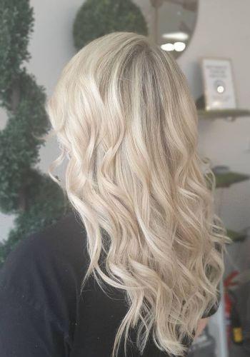 platinum blonde hair colirs at At Urban Coiffeur Hair Salon In Wolverhampton, West Midlands17286158_739971763444576_8402869899898621128_n