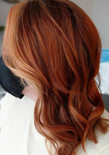 copper ornage hair colour at At Urban Coiffeur Hair Salon In Wolverhampton, West Midlands127247285_185868786530769_5140374603902300493_n